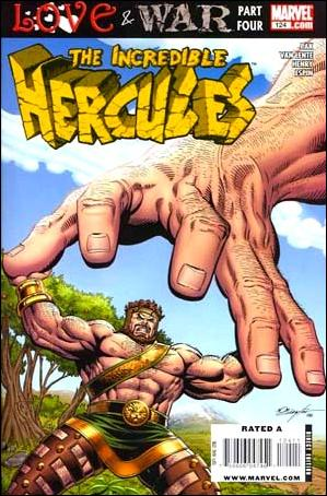 Incredible Hercules 124-A by Marvel