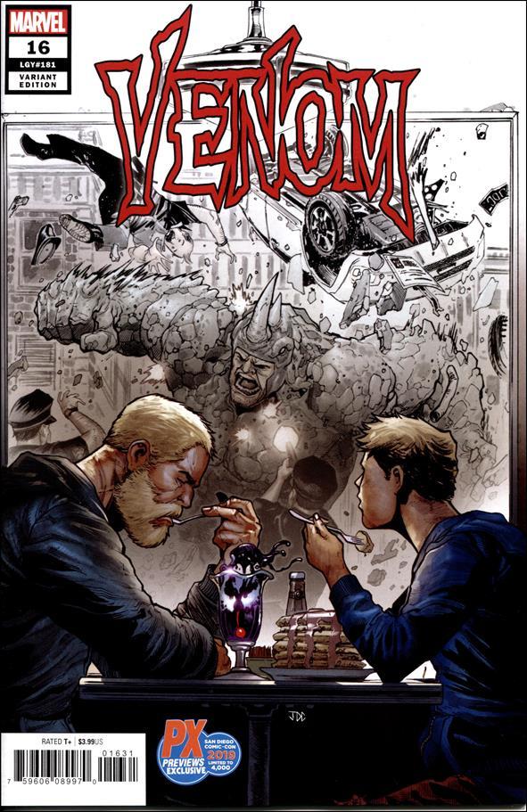Venom (2018) 16-D by Marvel