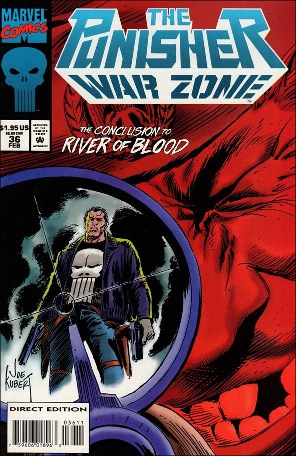 Punisher: War Zone (1992) 36-A by Marvel