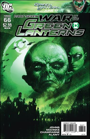Green Lantern (2005) 66-B by DC