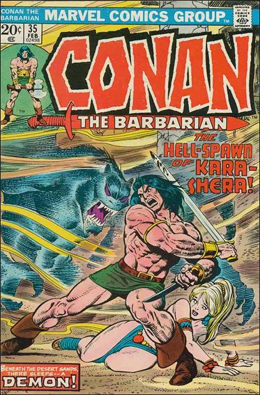 Conan the Barbarian (1970) 35-A by Marvel