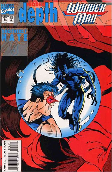 Wonder Man (1991) 24-A by Marvel