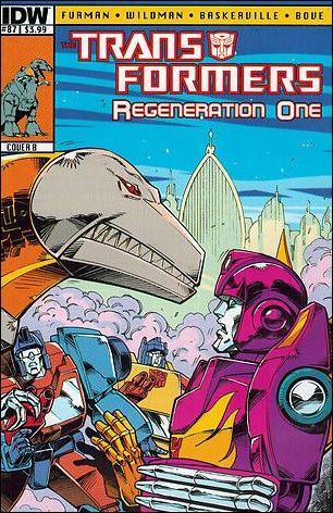 Transformers: Regeneration One 87-B by IDW