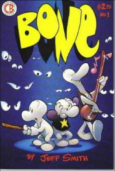 Bone (1991) 1-D by Cartoon Books