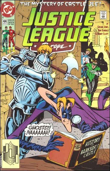 Justice League Europe 44-A by DC