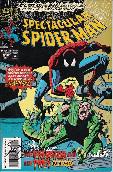 Spectacular Spider-Man (1976) 216-B by Marvel