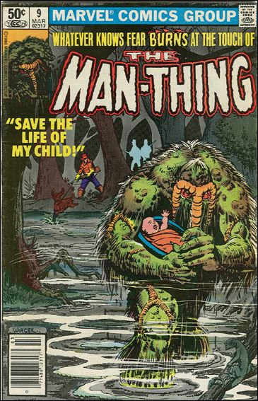 Man-Thing (1979) 9-A by Marvel