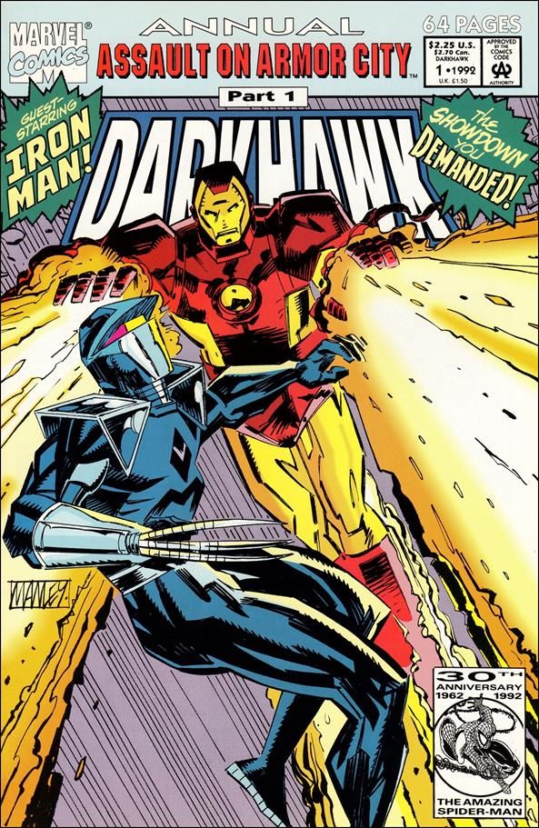 Darkhawk Annual 1-A by Marvel
