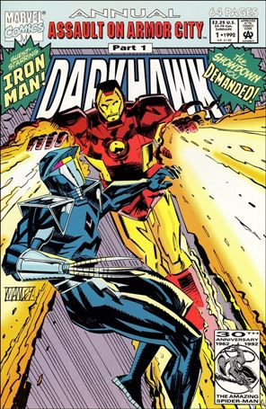 Darkhawk Annual 1-A