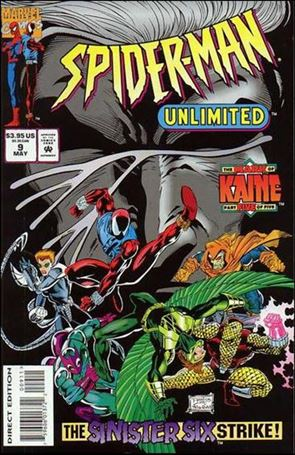 Spider-Man Unlimited (1993) 9-A