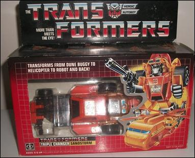 Transformers: More Than Meets the Eye (Generation 1) Sandstorm (Autobot Triple Changer) by Hasbro