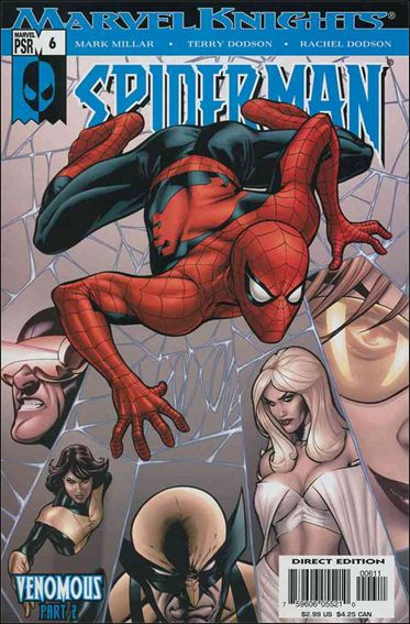 Marvel Knights Spider-Man (2004)  6-A by Marvel