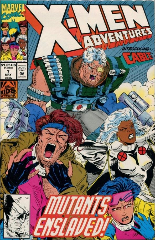 X-Men Adventures (1992) 7-A by Marvel