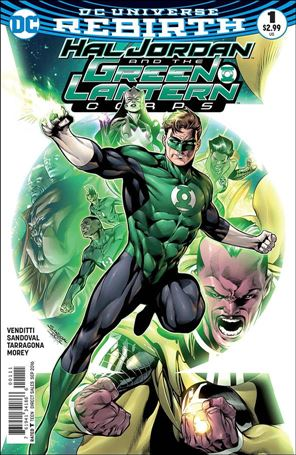 Hal Jordan and the Green Lantern Corps 1-A