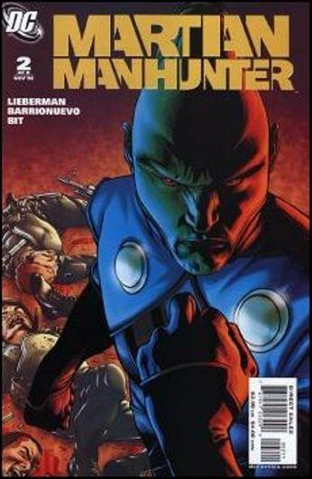 Martian Manhunter (2006) 2-A by DC