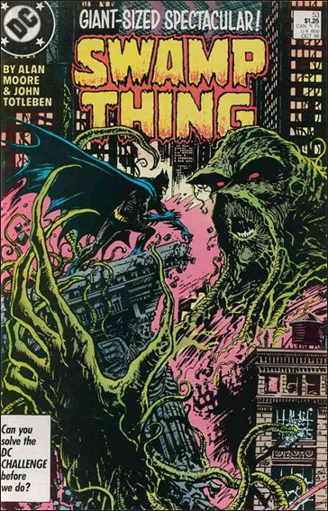 Swamp Thing (1986) 53-A by Vertigo