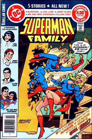 Superman Family 215-A by DC