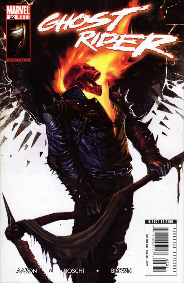 Ghost Rider (2006) 22-A by Marvel