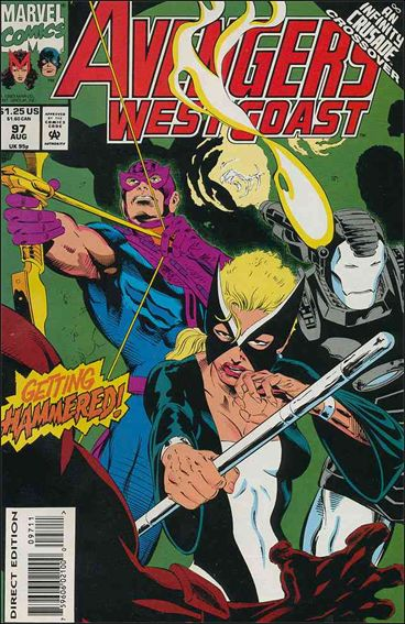 Avengers West Coast 97-A by Marvel