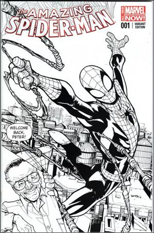 Amazing Spider-Man (2014) 1-QE