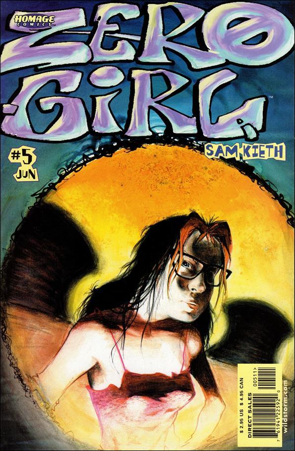 Zero Girl 5-A by Homage Comics