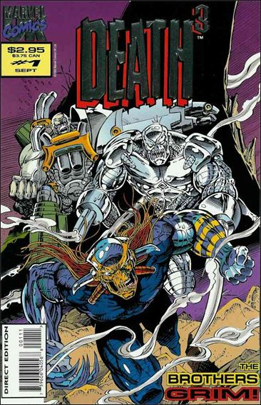 Death3 (UK) 1-A by Marvel UK