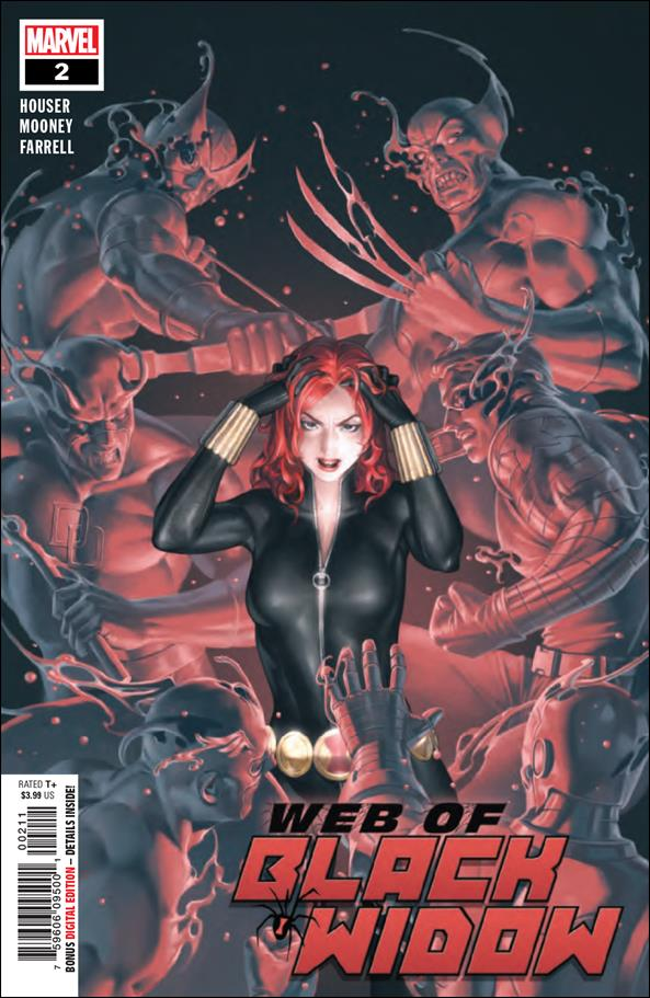 Web of Black Widow 2-A by Marvel