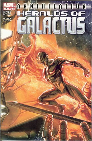 Annihilation: Heralds of Galactus 2-A by Marvel