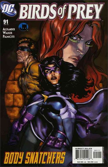 Birds of Prey (1999) 91-A by DC