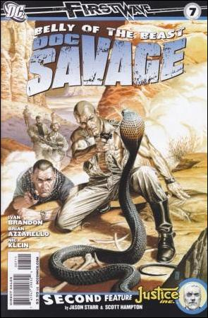 Doc Savage (2010) 7-A by DC