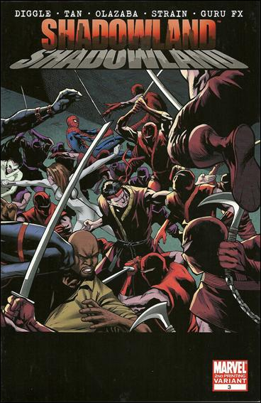 Shadowland (2010) 3-C by Marvel