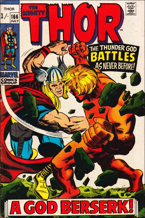 Thor (1966) 166-B by Marvel