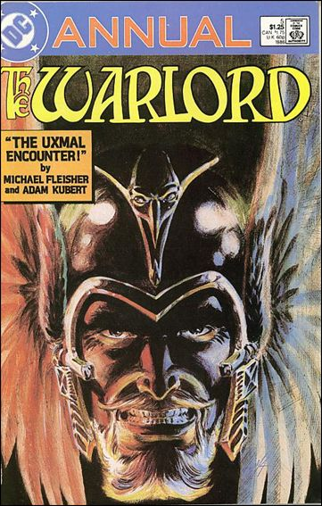 Warlord Annual 5-A by DC