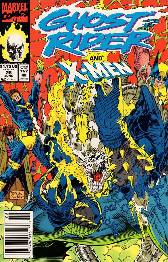 Ghost Rider (1990) 26-A by Marvel