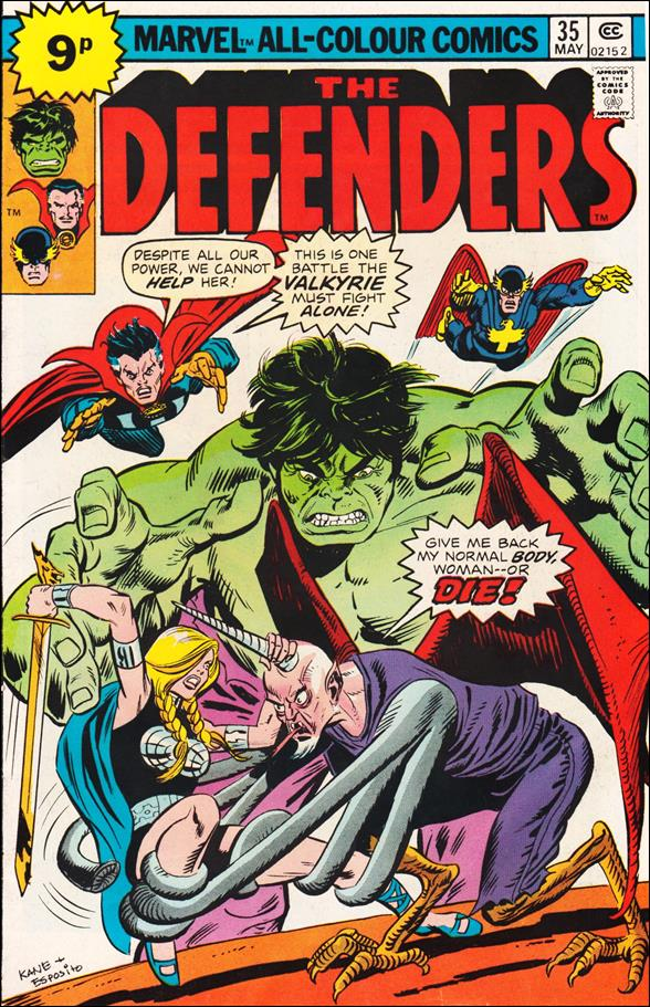 Defenders (1972) 35-C by Marvel