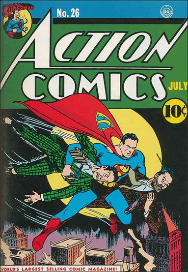 Action Comics (1938) 26-A by DC