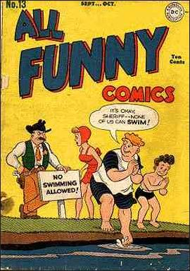 All Funny Comics 13-A by DC