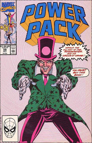 Power Pack (1984) 59-A by Marvel