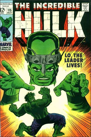 Incredible Hulk (1968) 115-A by Marvel