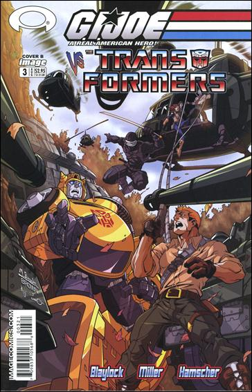 G.I. Joe vs the Transformers (2003) 3-B by Image