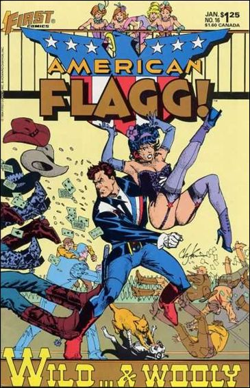 American Flagg! (1983) 16-A by First