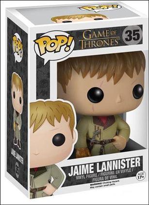 POP! Game of Thrones Jaime Lannister (Golden Hand)