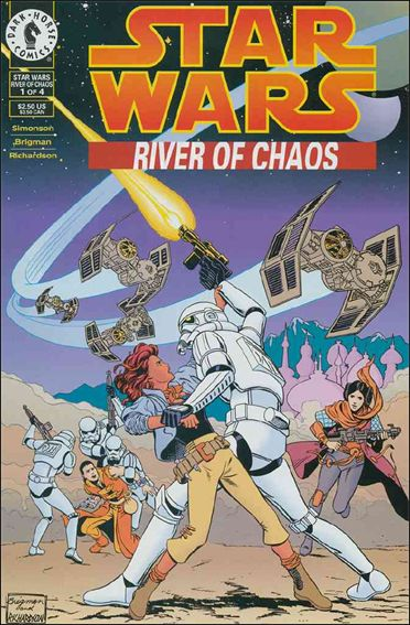 Star Wars: River of Chaos 1-A by Dark Horse