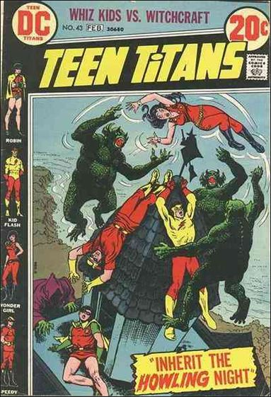 Teen Titans (1966) 43-A by DC