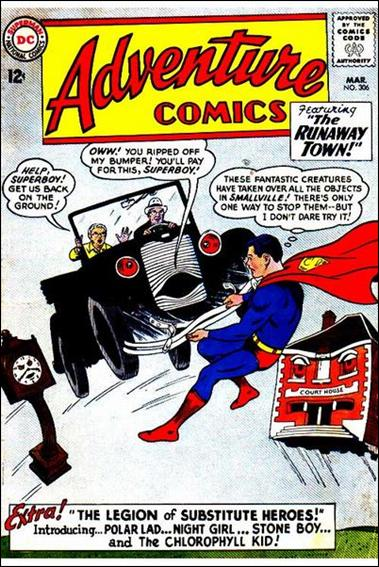 Adventure Comics (1938) 306-A by DC