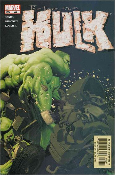 Incredible Hulk (2000)  48-A by Marvel