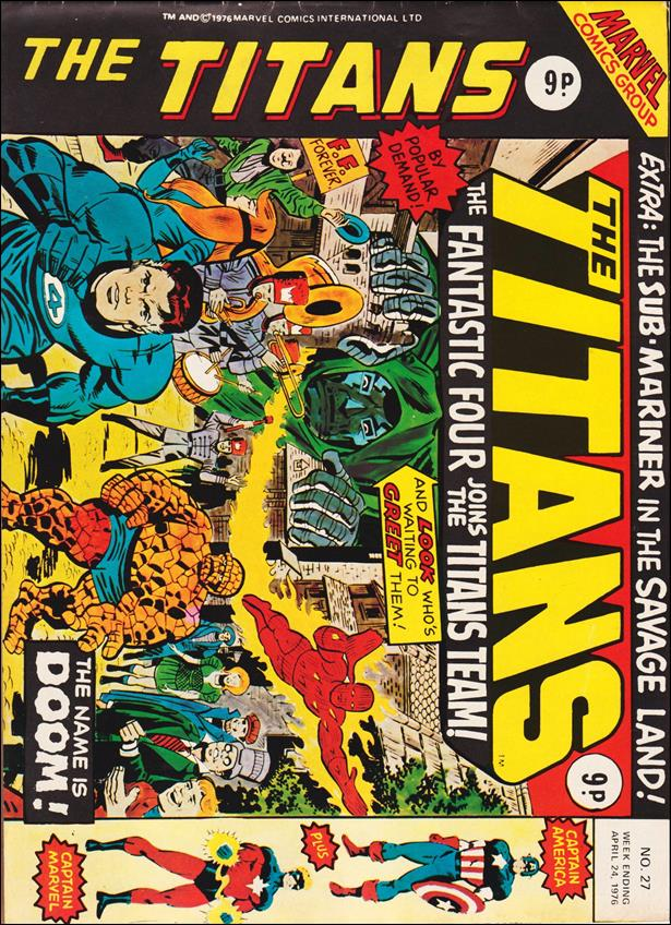 Titans (UK) 27-A by Marvel UK
