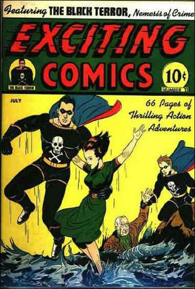 Exciting Comics (1940) 11-A by Better Publications