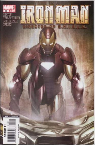 Iron Man: Director of S.H.I.E.L.D. 30-A by Marvel