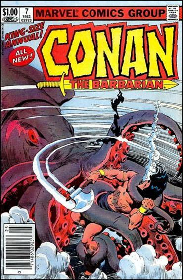 Conan Annual 7-A by Marvel